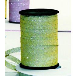 Bolduc ruban 10mmx100m Or pailleté Déco festive 84021021002