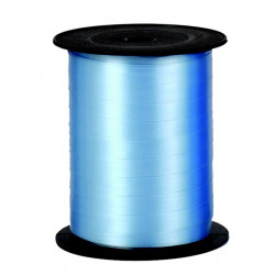 Bolduc ruban 7mmx500 m Bleu pervenche Déco festive 80010725025