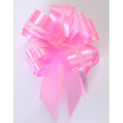 Noeud en satin à tirer rose Déco festive 56183090136
