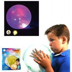 Ballon yoyo lumineux à paillettes à gonfler /12/ . Jouets et articles kermesse 23181