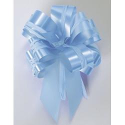 Noeud en satin à tirer bleu pastel Déco festive 56183090125