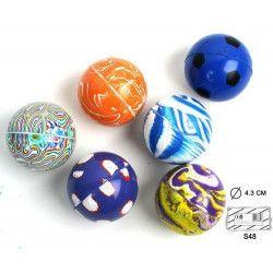 Balles super rebondissante 43 mm vendue par 48 Jouets et kermesse 23228-LOT