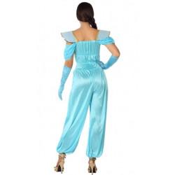 Déguisement princesse orientale bleue femme Déguisements 61431-