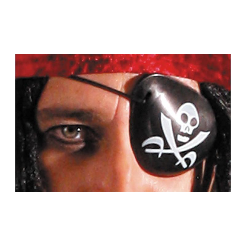 Cache oeil Pirate Accessoires de fête 875026