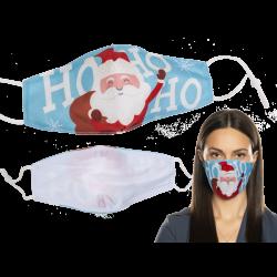 Masque fantaisie tissu thème Noël Accessoires de fête 990201