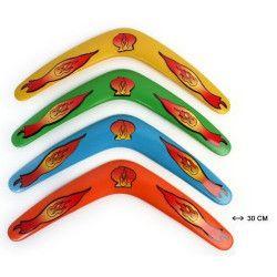 Jouets et kermesse, Boomerang 30 cm vendu par 48, 23266-LOT, 0,38€