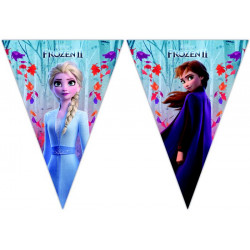Guirlande fanions La Reine des Neiges 2™ 230 cm Déco festive LFRZ91135