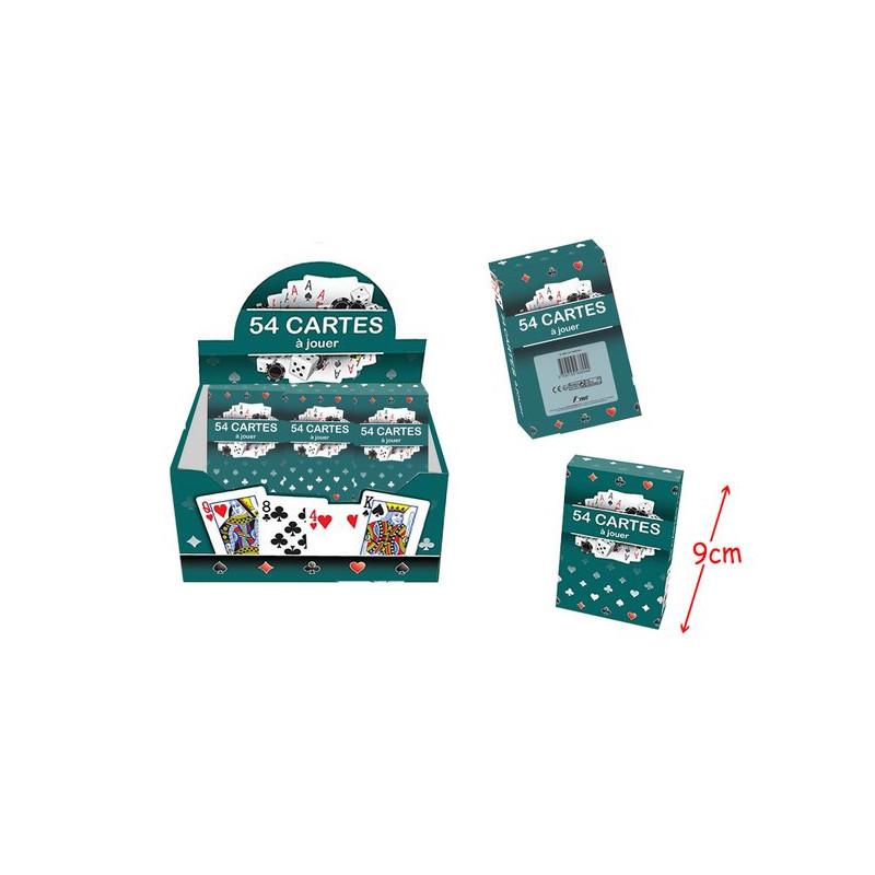 Jeu de 54 cartes à jouer vendu par 24 Jouets et articles kermesse 38944-LOT