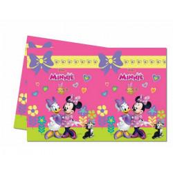 Nappe plastique Minnie Happy Helpers™ 120 x 180 cm Déco festive LMIN87865