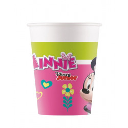 Gobelets carton Minnie Happy Helpers x 8 Déco festive LMIN92201