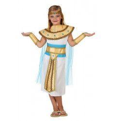 Déguisements, Déguisement Egyptienne enfant 3-4 ans, 23308, 24,90€