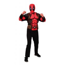 Top et cagoule Deadpool™ luxe adolescent Déguisements I-G34230