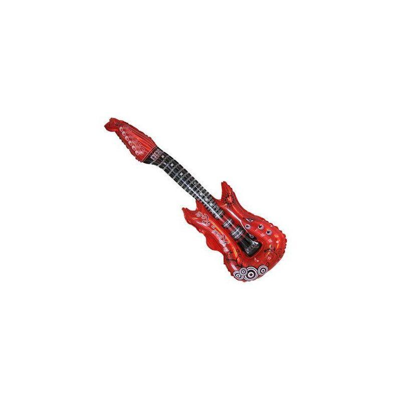 Guitare gonflable en aluminium Jouets et articles kermesse 23490