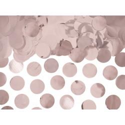 Confettis ronds rose gold 2.5cm 15 g Déco festive KONS45-019R