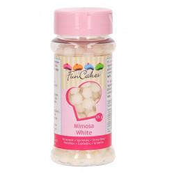 Décors sucre Mimosa FunCakes 45 g Blanc Cake Design G42308