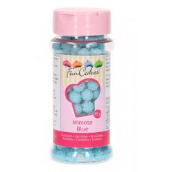 Décors sucre Mimosa FunCakes 45 g Bleu Cake Design G42310