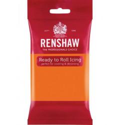 Pâte à sucre Pro Renshaw 250 g orange Cake Design R02920