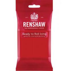Pâte à sucre Pro Renshaw 250 g rouge Cake Design R02902