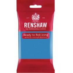Pâte à sucre Pro Renshaw 250 g turquoise Cake Design R02913