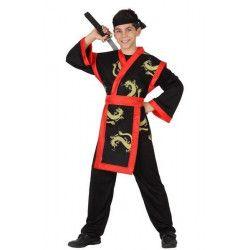 Déguisements, Déguisement ninja garçon 10-14 ans, 23649, 22,90€