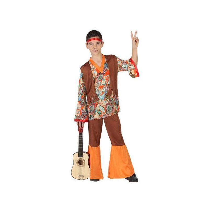 Déguisements, Déguisement hippie garçon 4-6 ans, 23670, 25,90€