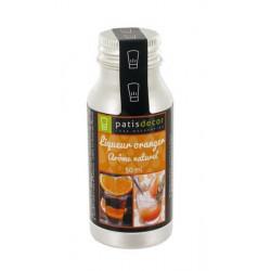 Arôme naturel liqueur oranger Patisdécor 50 ml Cake Design P963