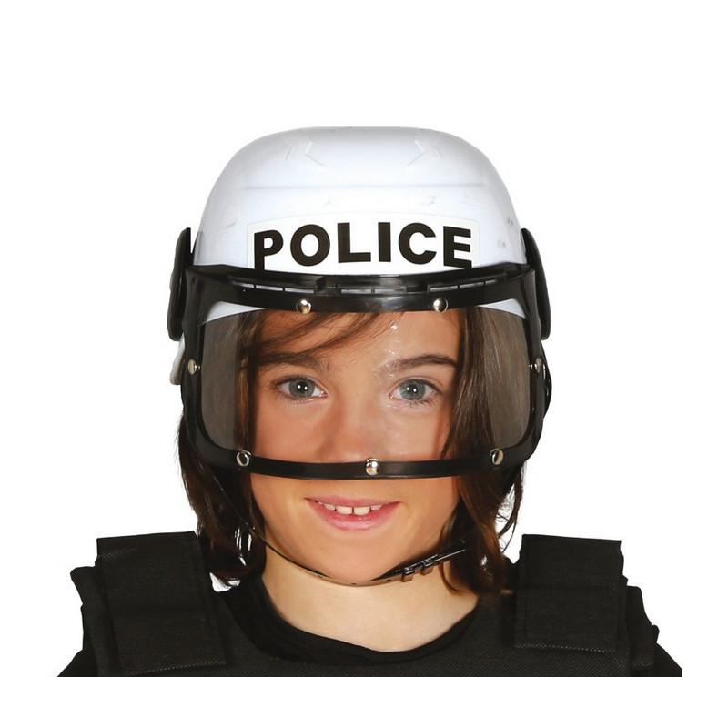 Casque de policier enfant Accessoires de fête 13320