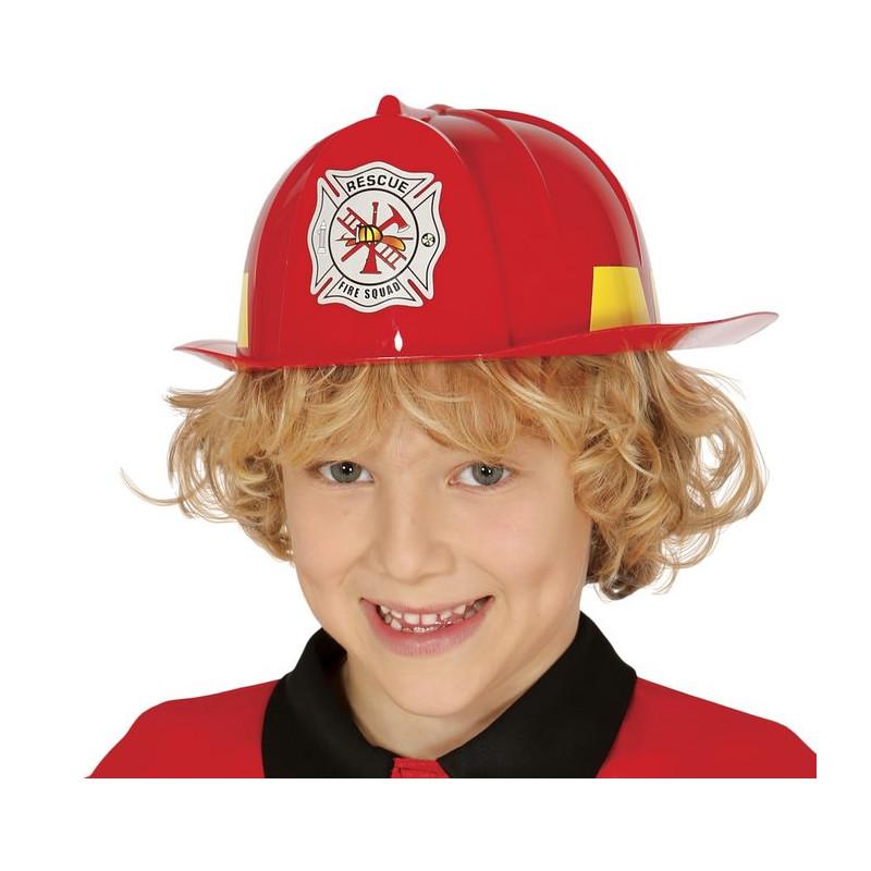 Enfants enfants garçons pompier fire /& rescue COSTUME ROBE FANTAISIE comprend casque