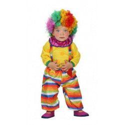 Déguisements, Déguisement clown bébé 6-12 mois, 23751, 22,90€