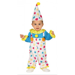 Déguisement clown bébé Déguisements 8838-