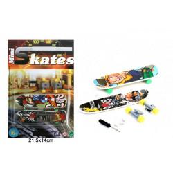 Finger skate board x 2 vendu par 24 Jouets et articles kermesse 12062-LOT