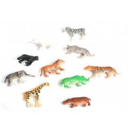 Animal du zoo plastique vendu par 48 Jouets et articles kermesse 11027-LOT
