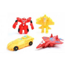 Figurine voiture robot transformable 8 cm vendue par 48 Jouets et articles kermesse 21026-LOT