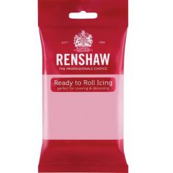 Pâte à sucre Pro Renshaw 250 g rose Cake Design 02905