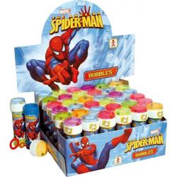 Lot 36 bulles de savon Spiderman 60 ml Jouets et articles kermesse 450106