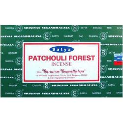 Lot 12 boites d'encens Satya Patchouli Forest Nag champa Divers PAT203-LOT