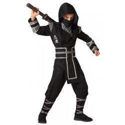 Déguisement ninja noir enfant Déguisements 6599-