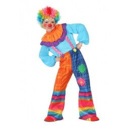 Déguisement clown bariolé garçon 4-6 ans Déguisements 23881
