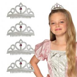 Set 4 tiares princesse Accessoires de fête 44089