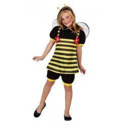 Déguisements, Déguisement d'abeille fille 7-9 ans, 23906, 22,50€