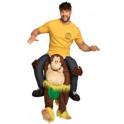 Déguisement humoristique homme à dos de singe Déguisements 88115