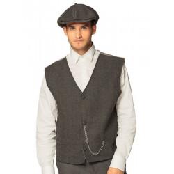 Déguisement gangster anglais avec gilet et casquette homme Déguisements 3301-