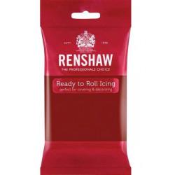 Pâte à sucre Pro Renshaw 250 g rouge rubis Cake Design 02903