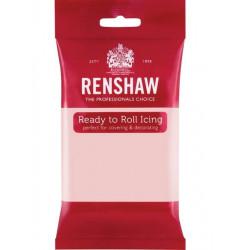 Pâte à sucre Pro Renshaw 250 g rose clair Cake Design 02915