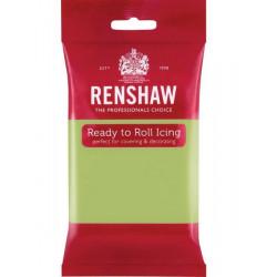 Pâte à sucre Pro Renshaw 250 g vert pastel Cake Design 02923