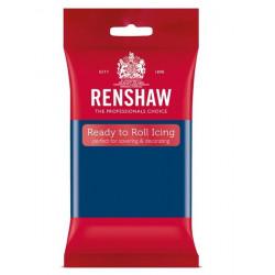 Pâte à sucre Pro Renshaw 250 g bleu saphir Cake Design 02930