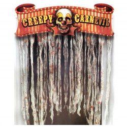 Rideau de porte cirque halloween Déco festive 240148