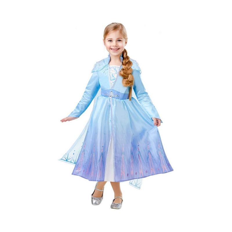 Déguisement classique Elsa Frozen 2™ fille 9-10 ans Déguisements I-300284XL