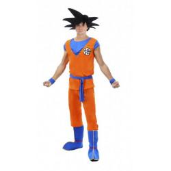 Déguisement Goku Saiyan Dragon Ball Z™ adulte taille S Déguisements C4369S