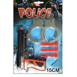Panoplie police avec grandes menottes  3700418024236